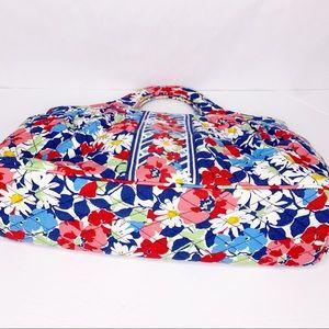 Vera Bradley Accessories - Vera Bradley Floral Quilted Mini Tote Handbag